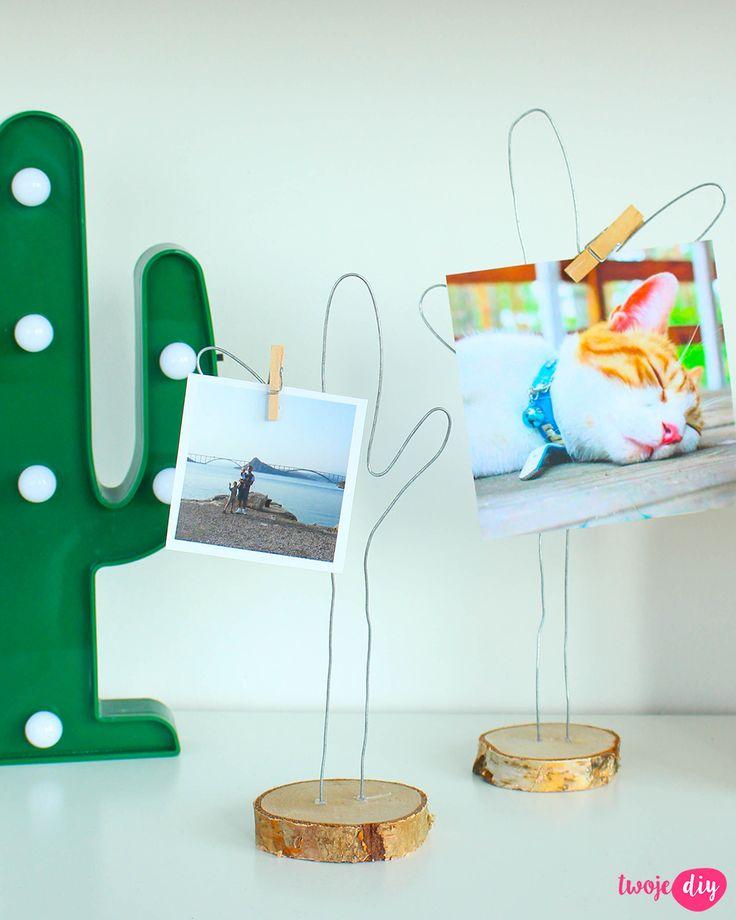 Podstawki do zdjęć DIY, Photo stands