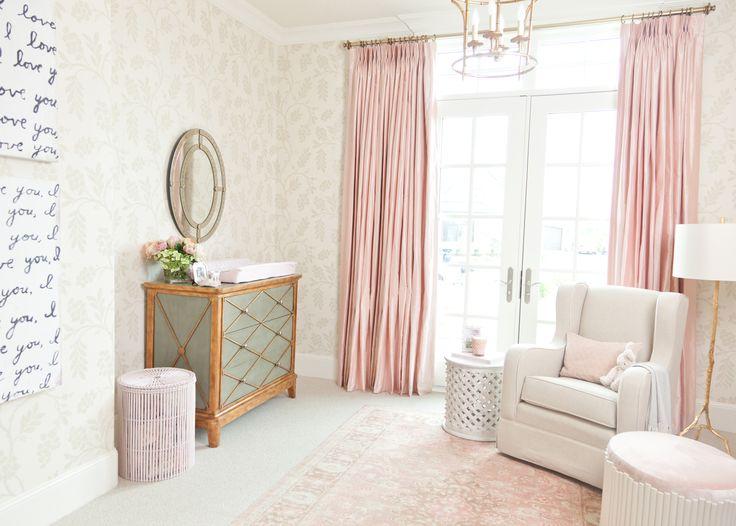 Project Nursery - Rachel Parcell Pink Peonies Nursery