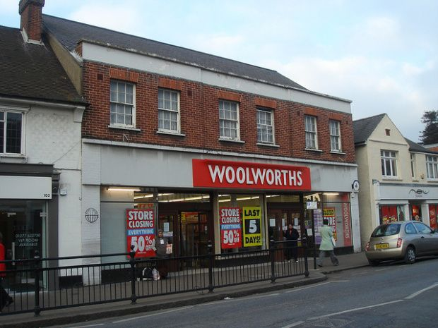 Billericay Woolworths 2008