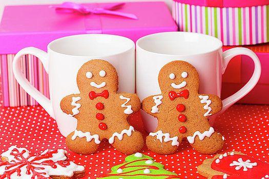 NadyaEugene Photography - homemade gingerbread cookies, christmas holiday