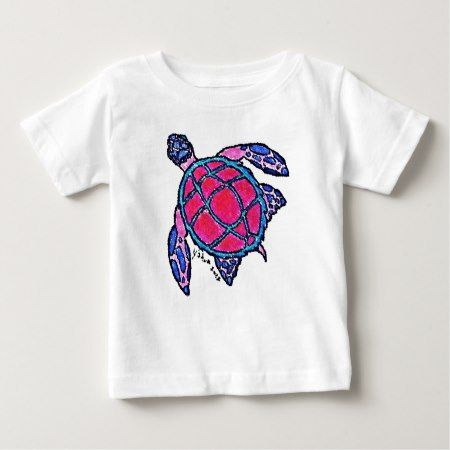 Spicy Sea Turtle Infant T-shirt - click to get yours right now!