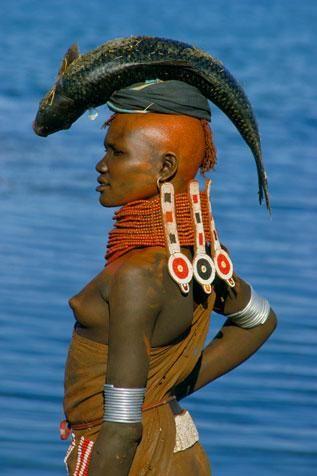 {Turkana Bride by Carol Beckwith and Angela Fisher}