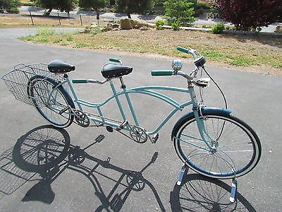 Vintage Restored Huffy Tandem Bicycle with Accessories