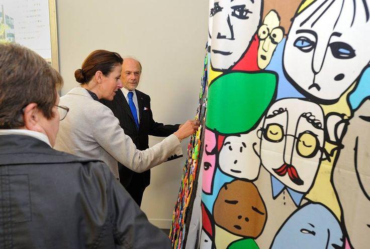 Inauguration du centre social Rosa Parks à Bezons-Famille - Valdoise