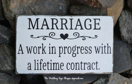 Marriage Wedding Sign Quote Sayings Verb Definition Work Life Love Wedding Gift Engagement Anniversary Rustic Wooden Home Plaque House Signs Master Bedroom Spouse Husband and Wife Hand Painted Wooden Sign