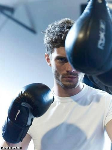 HOT Jamie Dornan I wish I was that boxing glove.
