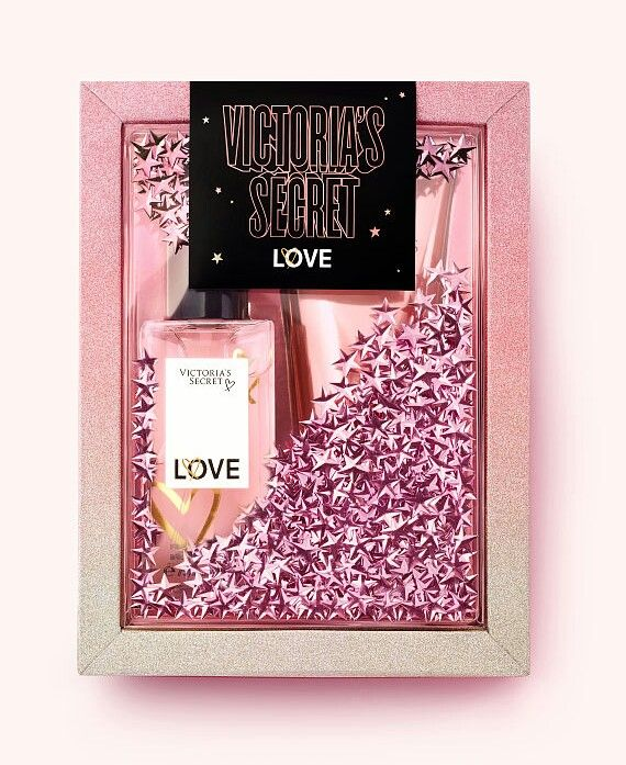 Victoria Secret Love Perfume Gift Box Ideas Birthday Holiday Christmas Girls Girlfriend Beauty