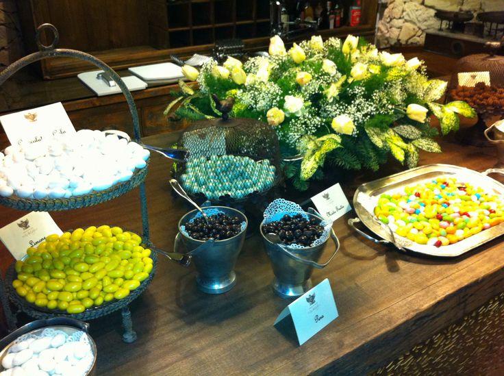 Il tavolo delle dolcezze a Torre del Parco  #matrimonio