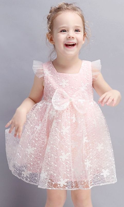 Cute Bow Know Lace Mini Dress. Age: 2 – 10 Years Old. It should be the best birt…