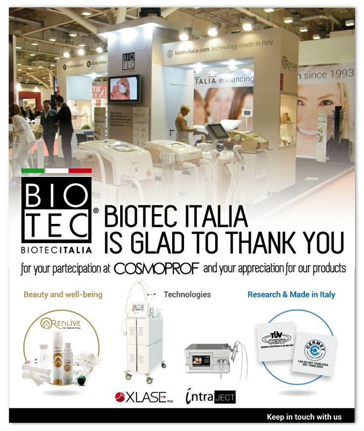 #biotecitalia thanks you for visiting us at #cosmpoprof #bologna #2014