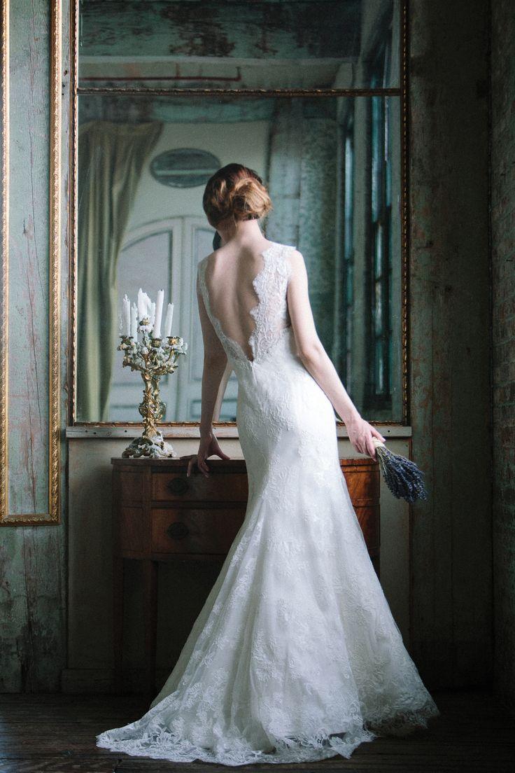 Sareh Nouri Spring 2015 'Ella' Lace Gown I Do Bridal Couture - Baton Rouge, LA