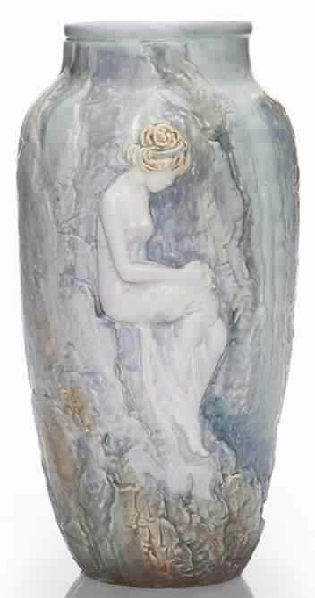 17 Best Images About Weller Pottery Art Nouveau On Pinterest Ebay Vase And Garden Art