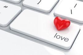 teclado, amor, teclado, coração, coração, amor