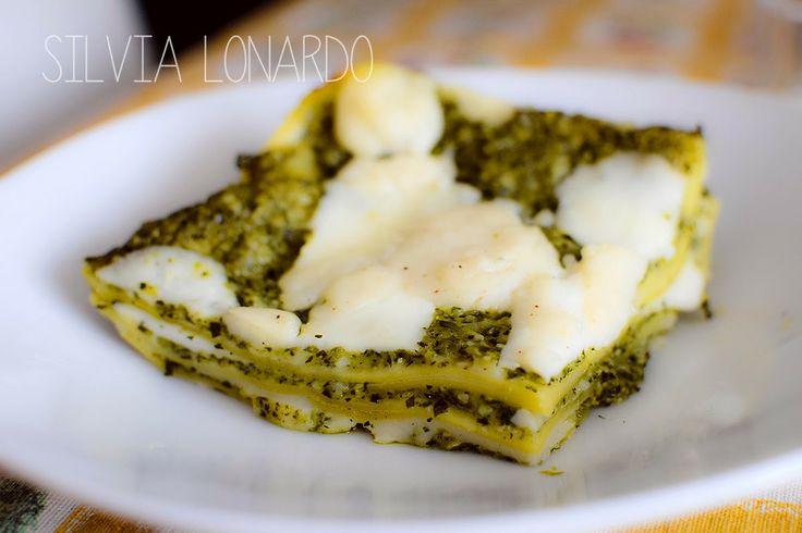 Senza Ciccia: Lasagne al pesto di zucchine