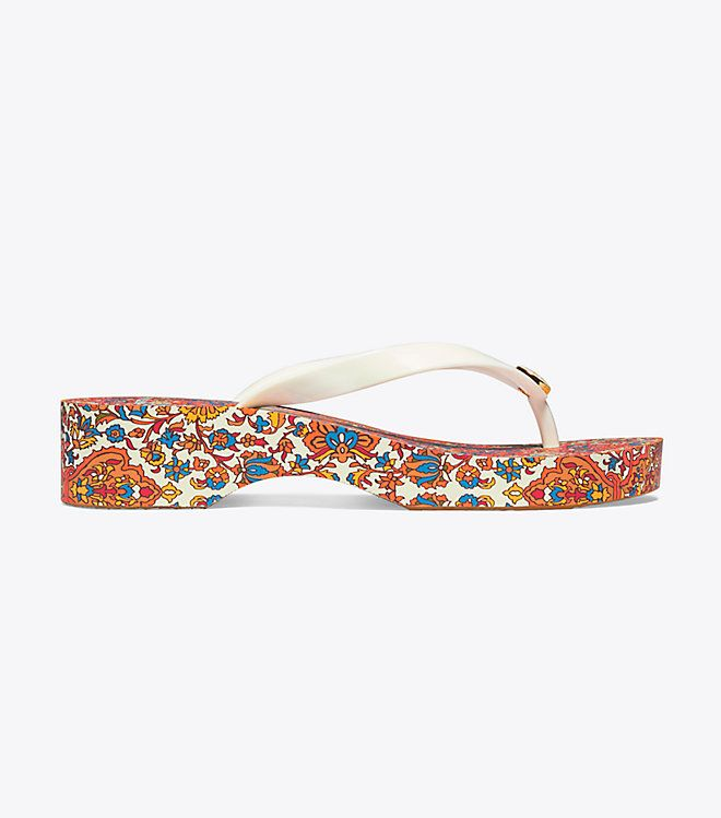 f037e2e3a Tory Burch Printed Carved Wedge Flip-flop   Women s View All