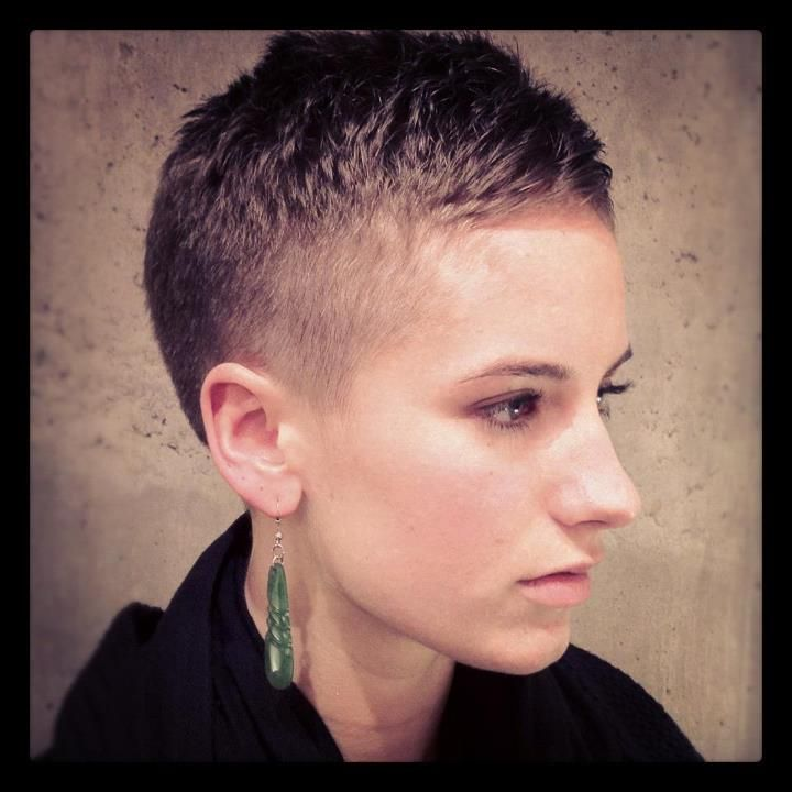 Fem Military Fade  Hair By Aaron Brousseau  @Rain Salon and Boutique