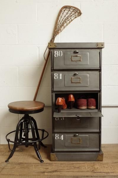 Industrial Mail Sorting Cabinet