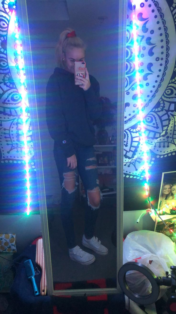 Pin by allie( on ☆ my outfits ☆ Mirror selfie, My