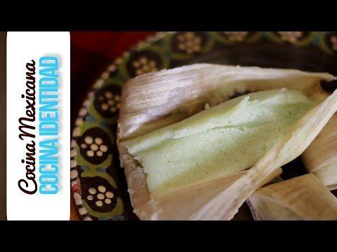 Cómo hacer tamales dulces de mantequilla rellenos.Yuri de Gortari - YouTube