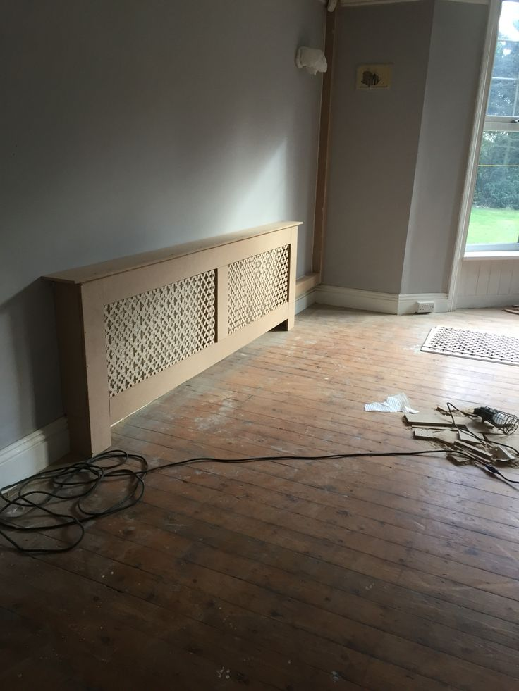 Radiator covers by woodpecker joinery services