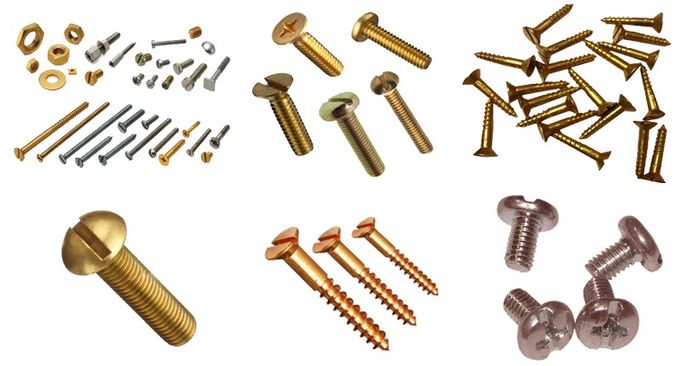 #BrassScrews   Our Brass Screws are of superior quality due to which these are widely used in its application area as it does not create much hassle. Our company is the most outstanding brass hex screws manufacturer and supplier in India. These screws are available in different categories like brass Round head, brass Hex screws, etc