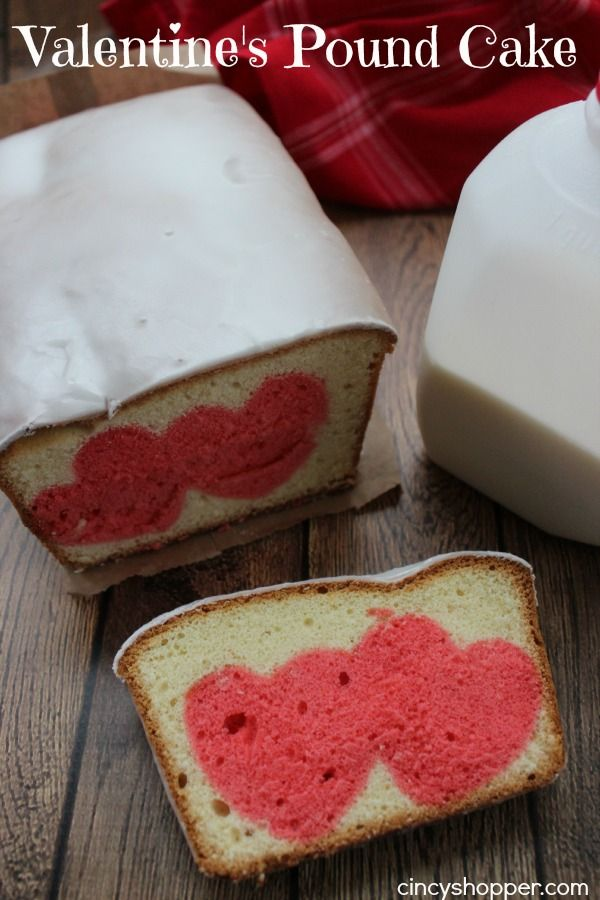 Hidden Heart Valentine's Cake so cute and you could use this technique for just about anything!