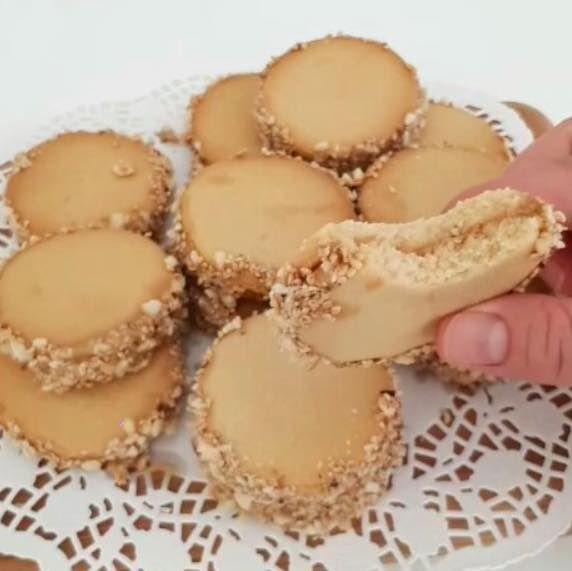 Tahinli kurabiye tarifi videolu
