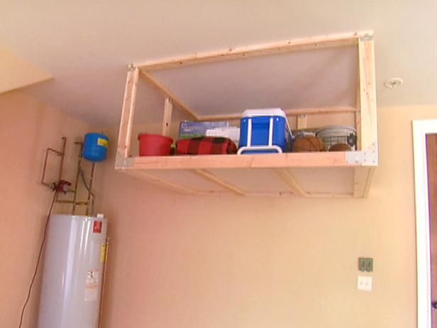 Here are the DIY Basics for building an overhead garage storage shelf  From the experts. 10 Best ideas about Overhead Garage Storage on Pinterest   Garage