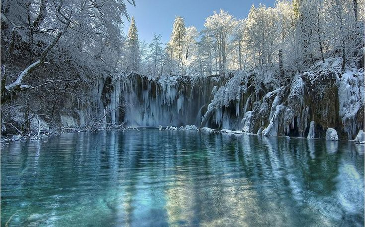 Plitvice Lakes about an hour or so outside Zagreb, Croatia