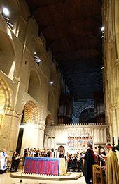 Aldenham School carol service at St Albans Cathedral.