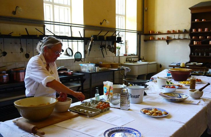 The kitchen at Petworth House is very similar to the one in The Manor.