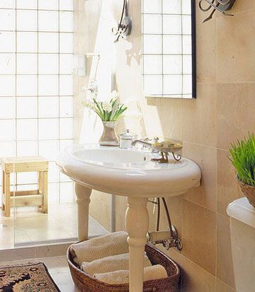 Bathroom Sinks Ideas 82 best pedestal sink storage solutions images on pinterest   room
