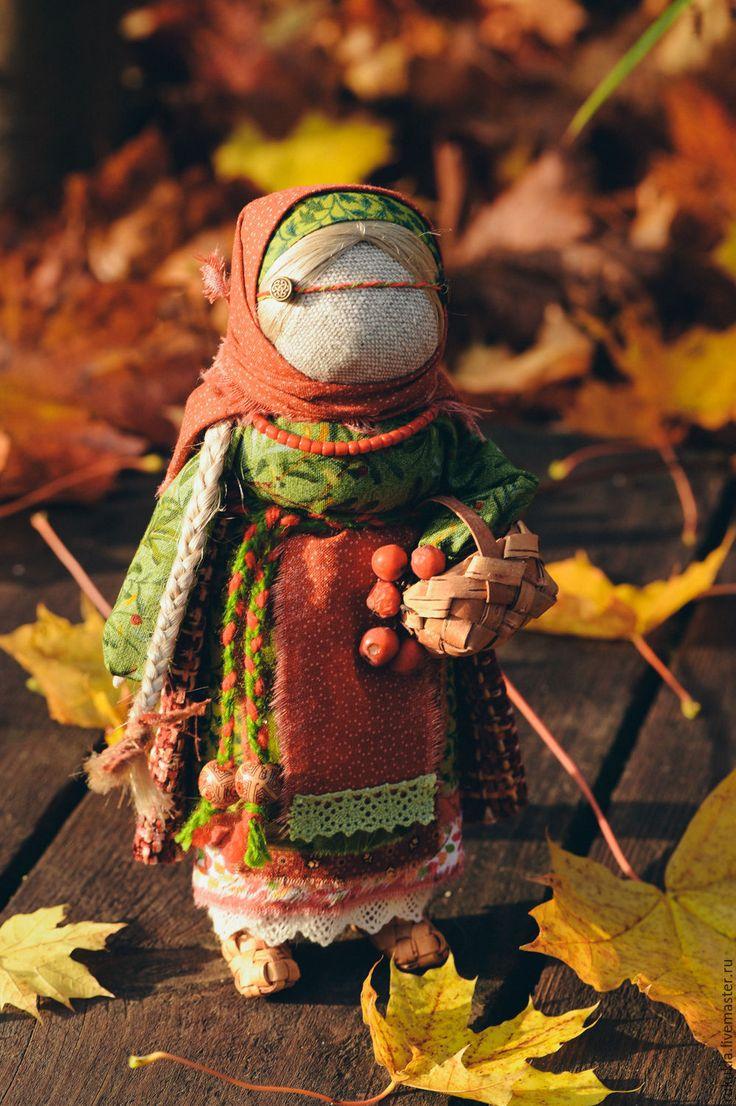 Folk doll / Купить Рябинка - разноцветный, народная кукла, народная традиция, Рябинка, Рябина, оберег, обереги в подарок