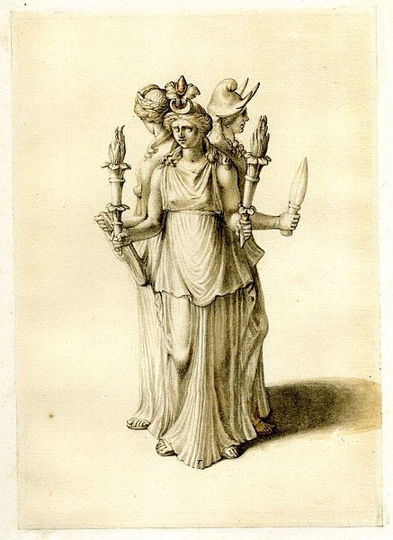 History of the triple goddess