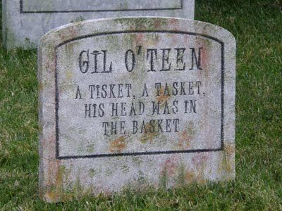 Funny Headstones Halloween
