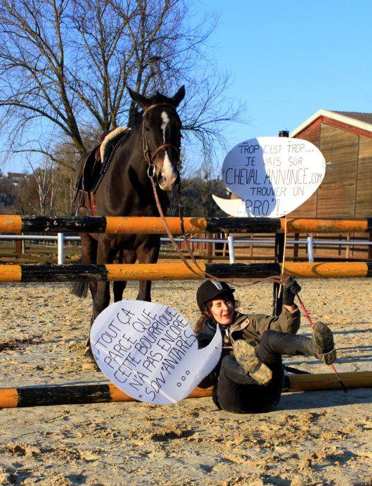 Aller prendre quelques conseils sur CA :) #cheval #obstacle #concours #chevalannonce