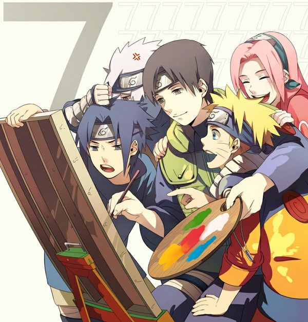 Naruto - If Sai and Kakashi switched spots it would probably look