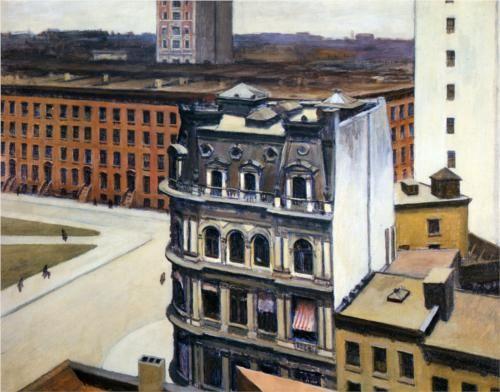 The City - Edward Hopper, 1927
