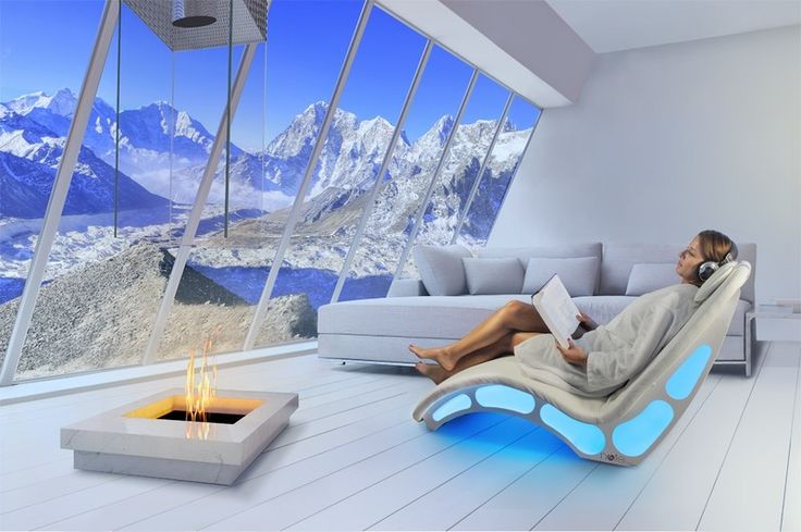 NOTE - Vibro emotional musical chaise longue for wellness centres