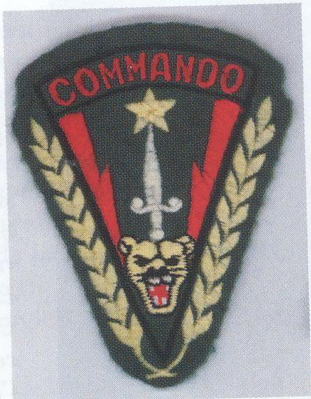 COMMANDO ZAIROIS-CONGO BELGA 1953-1962