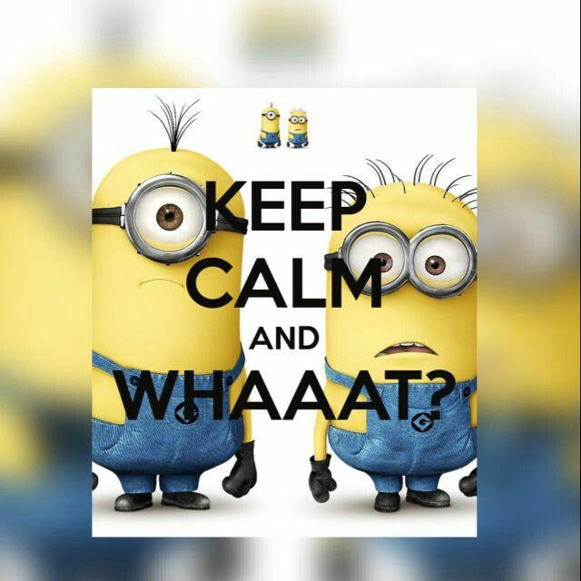 Keep calm and WHAAAT? #KeepCalm #Whaaat?