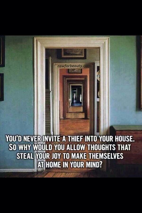 Intrusive thoughts are a bitch