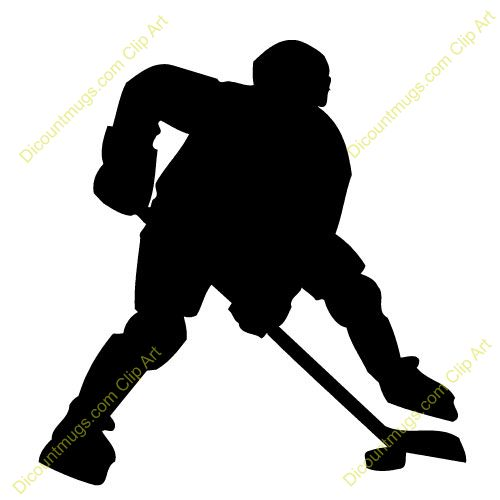 Ice Hockey Player Clip Art