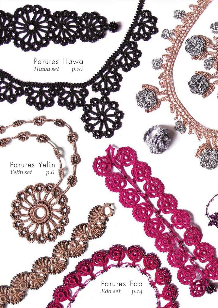 ISSUU – Modelle von Schmuck Bijoux oya von Yolanda enrHedando   – Crochet Jewelry