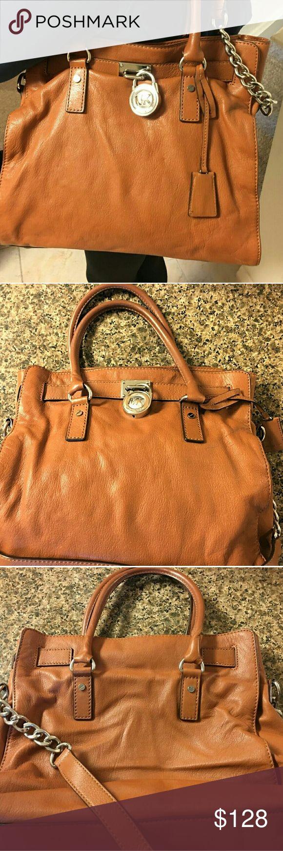 Michael Kors Hamilton Soft Leather Camel Bag Michael Kors Hamilton Soft Leather Camel Bag Michael Kors Bags Satchels