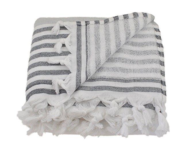 Amazon Com Oversized Turkish Towel Soft Terry Cloth Back