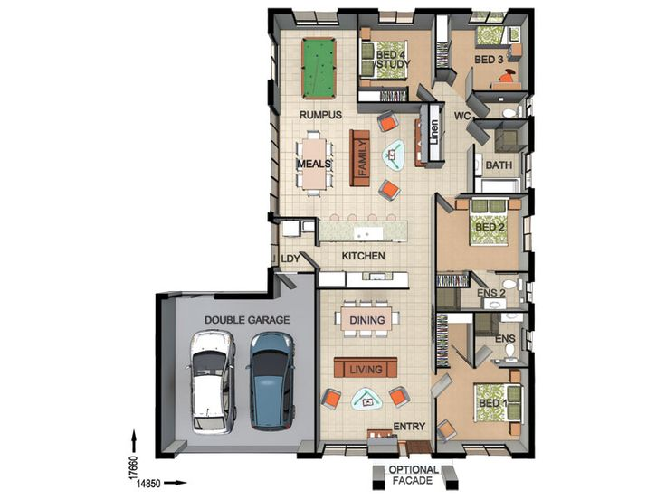 13 best House Plans images on Pinterest | Blueprints for homes ...