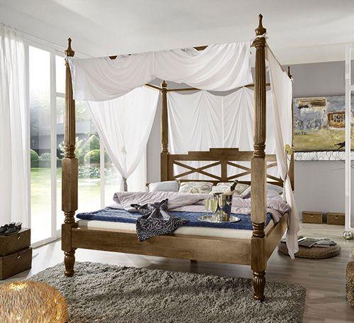 Die besten 25+ Holz himmelbett Ideen auf Pinterest Rustikale - schlafzimmer himmelbett
