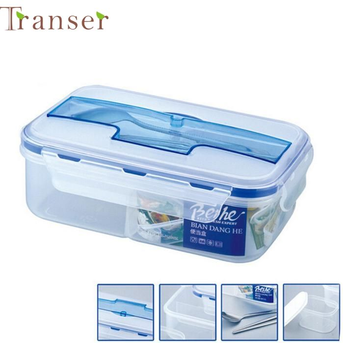 Transer Jasmine  Modern Ecofriendly Portable Microwave Lunch Box with Soup Bowl Chopsticks Spoon Food  0213 drop shipping