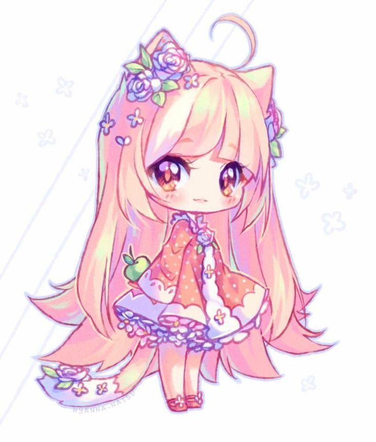 จิบิน่ารักๆ จิบิ Chibi Cute chibi และ Chibi girl